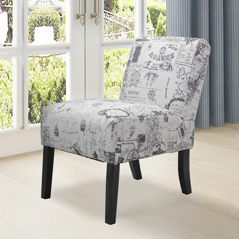 Featured Photo of Aime Upholstered Parsons Chairs In Beige