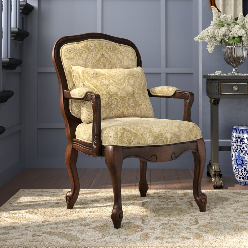 Albryna Armchair With Regard To Hanner Polyester Armchairs (View 17 of 20)