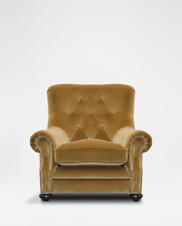 Alexander & James Fable Armchair In Fabric Regarding James Armchairs (View 3 of 20)