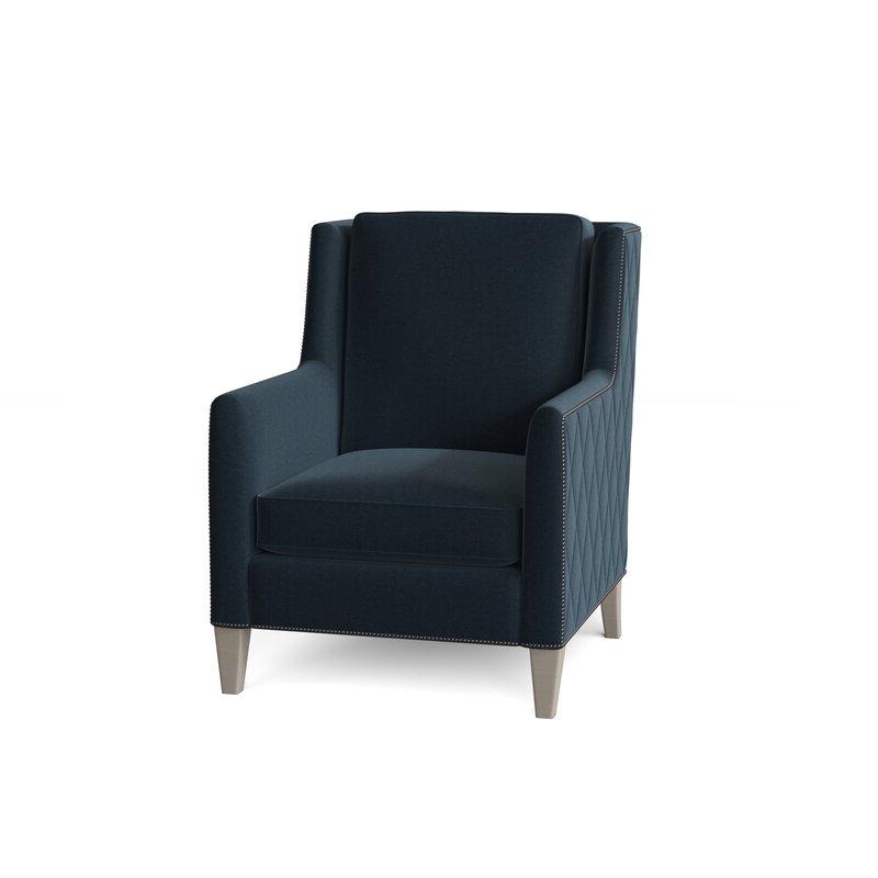 "Almada 30"" W Down Cushion Armchair Regarding Almada Armchairs (View 5 of 20)"