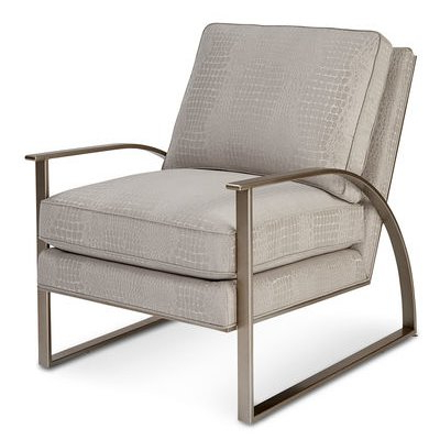 Alvina Brass Metal Armchair | Accent Chairs, Mid Century Inside Lakeville Armchairs (View 13 of 20)