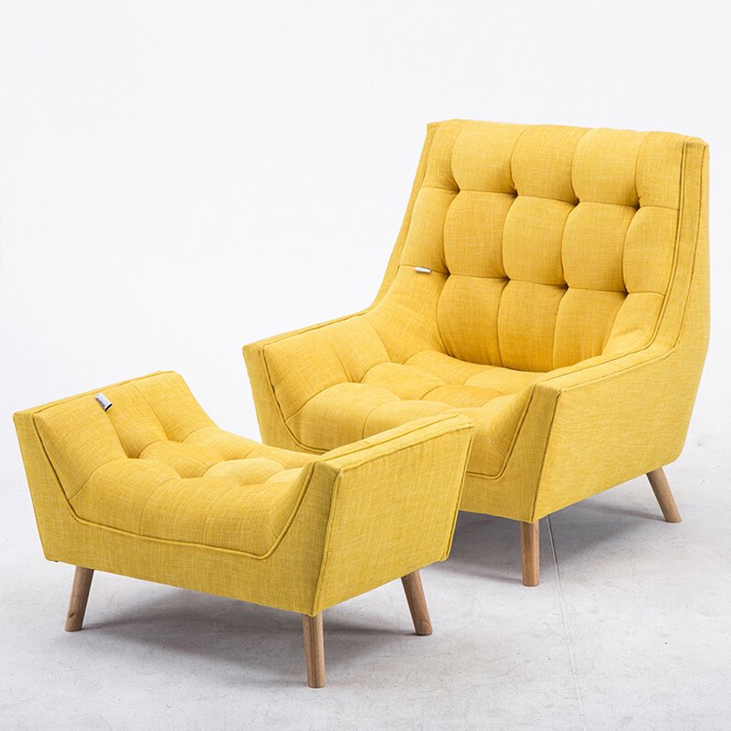 Amee Armchair And Footstool For Hofstetter Armchairs (View 20 of 20)