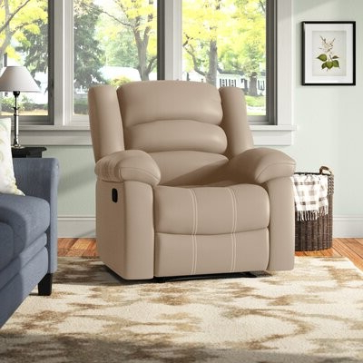 Andover Millstm Parkmead Manual Wall Hugger Recliner Andover Mills Fabric: Mocha Microfiber/microsuede Intended For Munson Linen Barrel Chairs (View 19 of 20)