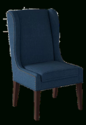 Andover Wingback Chair | Navy For Andover Wingback Chairs (View 11 of 20)