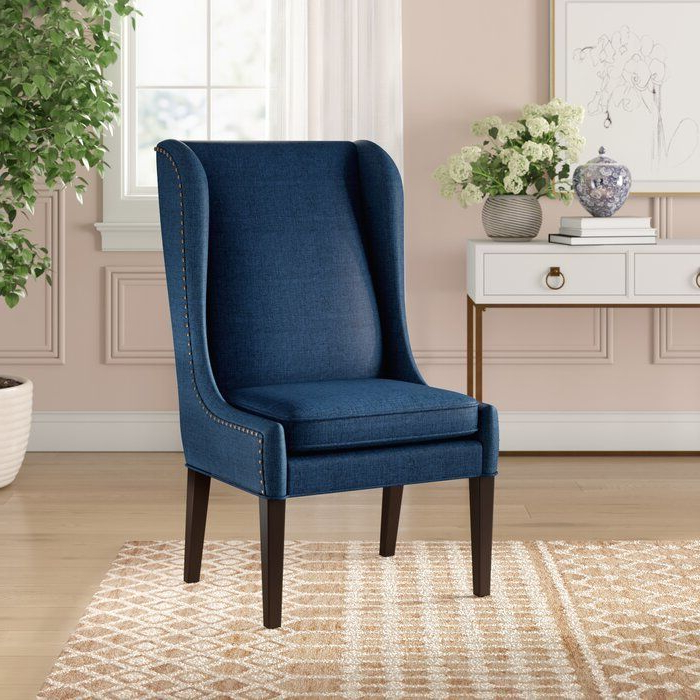 Andover Wingback Chair – Wayfair Throughout Aniruddha Slipper Chairs (View 16 of 20)