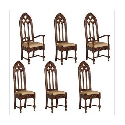Armchair | Gothic Furniture, Dining Chair Set, Gothic Chair Within Ragsdale Armchairs (View 19 of 20)