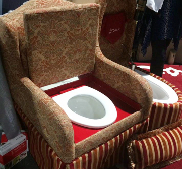 Armchair Toilet Intended For Louisburg Armchairs (View 13 of 20)