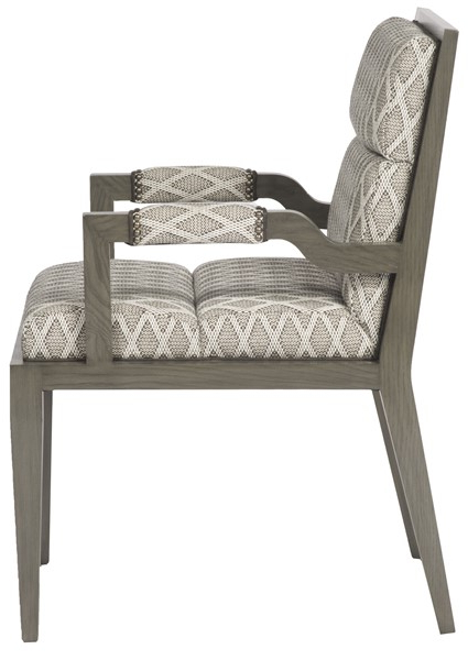 Armory Square Arm Chair 9712a – Our Products – Vanguard Pertaining To Armory Fabric Armchairs (View 18 of 20)
