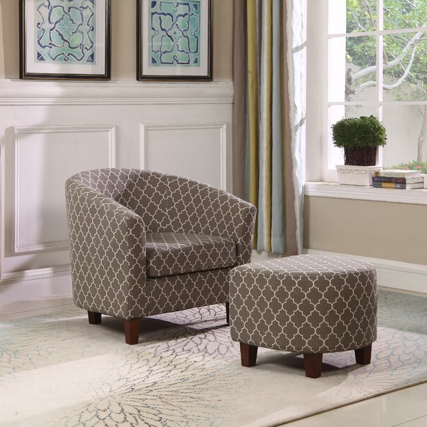Artemis Chair Intended For Artemi Barrel Chair And Ottoman Sets (View 2 of 20)