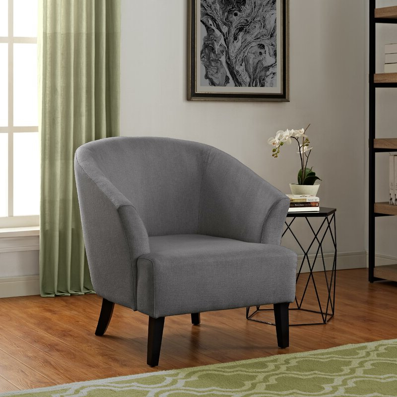 Artesia Barrel Chair Throughout Navin Barrel Chairs (View 8 of 20)
