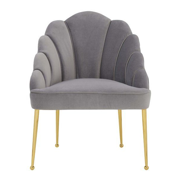As Comfortable As It Is Visually Striking, This Collection For Grinnell Silky Velvet Papasan Chairs (View 16 of 20)