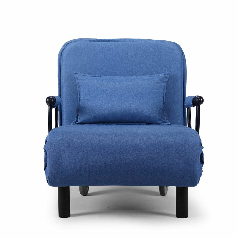 """Asbed Folding 22"""" Convertible Chair Pertaining To Longoria Convertible Chairs (View 10 of 20)"""