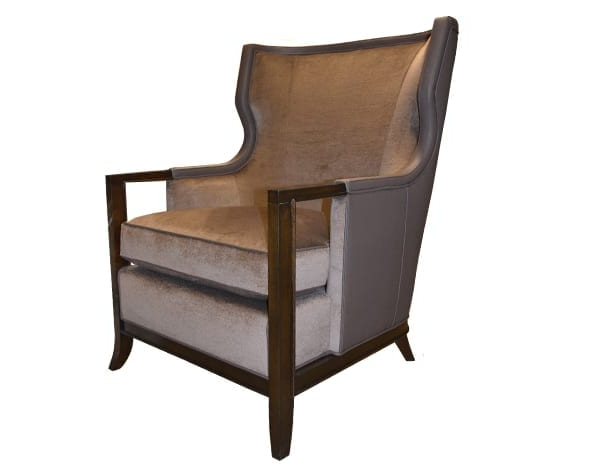 Asbury Wing Chair   William & Wesley Co (View 9 of 20)