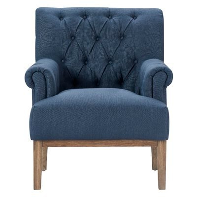Ashlee Armchair – Wayfair With Regard To Allis Tufted Polyester Blend Wingback Chairs (View 17 of 20)
