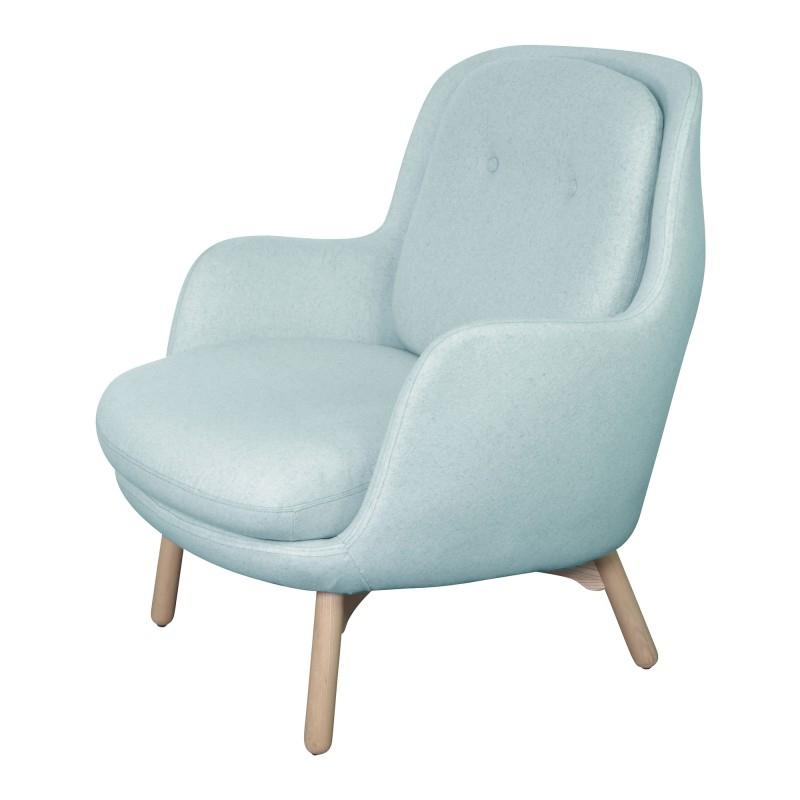 Baby Suki Fabric Armchair, Powder Blue With Regard To Suki Armchairs (View 13 of 20)