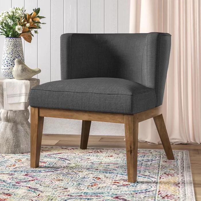 Barnard Barrel Chair & Reviews | Joss & Main | Barrel Chair With Barnard Polyester Barrel Chairs (View 9 of 20)