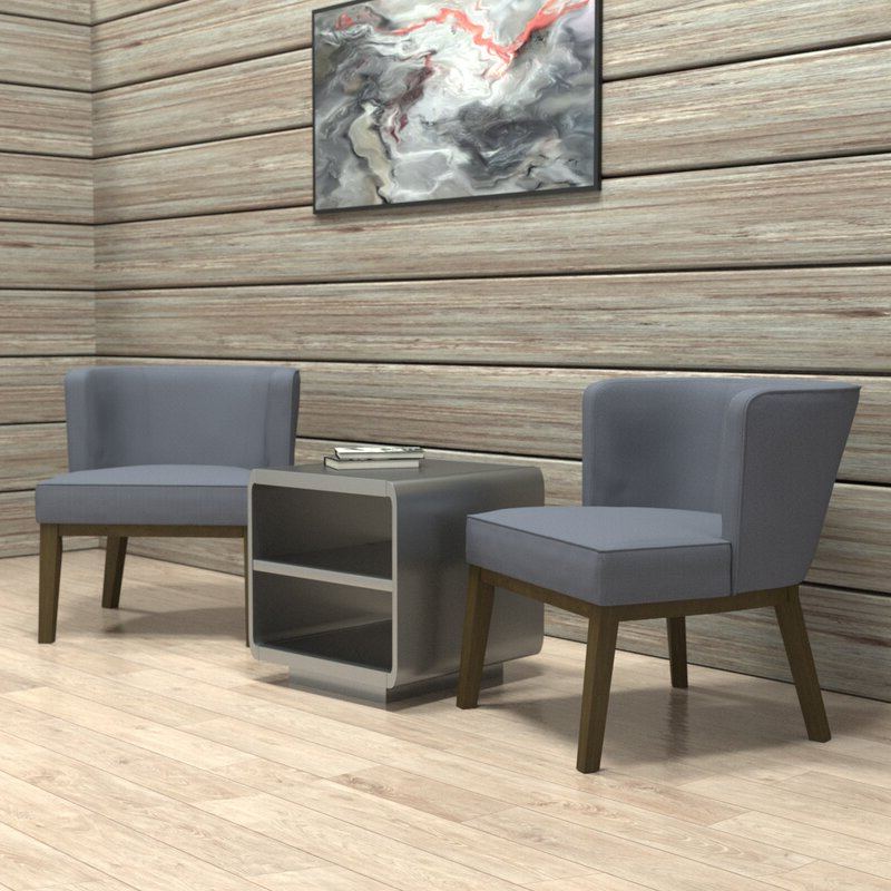 Barnard Barrel Chair With Barnard Polyester Barrel Chairs (View 13 of 20)