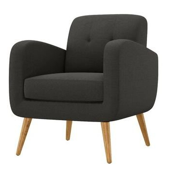 Barone Mid Century Fabric Club Chair – Allmodern For Hiltz Armchairs (View 15 of 20)