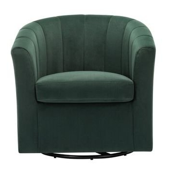 Barrentine Swivel Barrel Chair – Wayfair Pertaining To Indianola Modern Barrel Chairs (View 10 of 20)