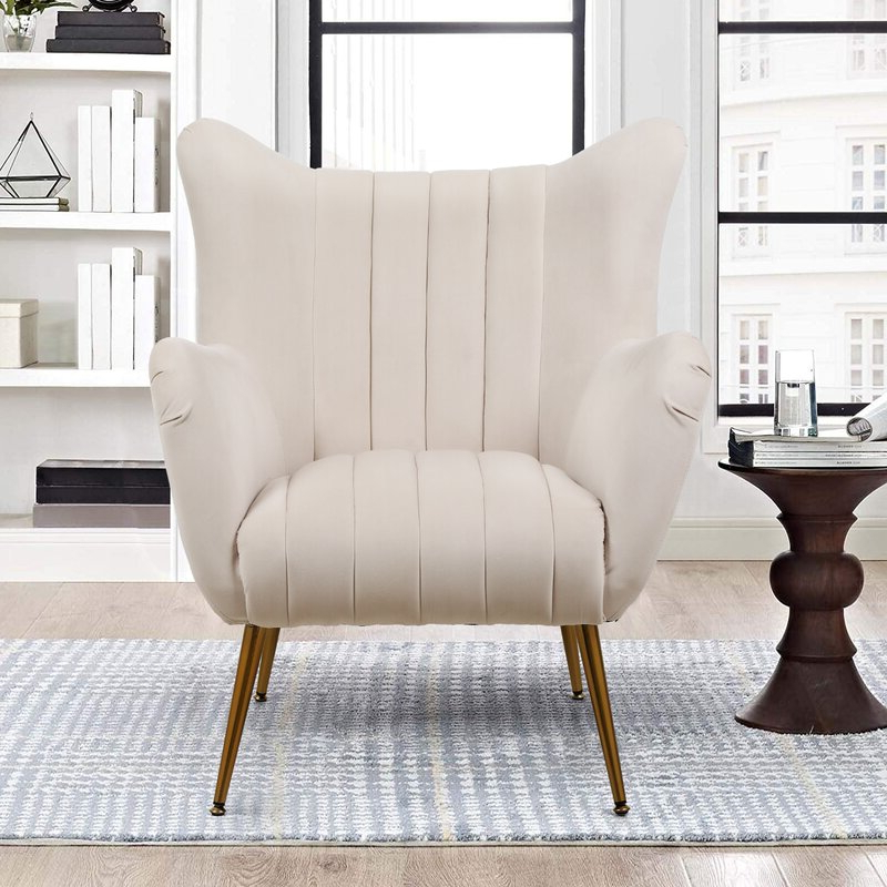 Barry Wingback Chair Intended For Nestor Wingback Chairs (View 14 of 20)
