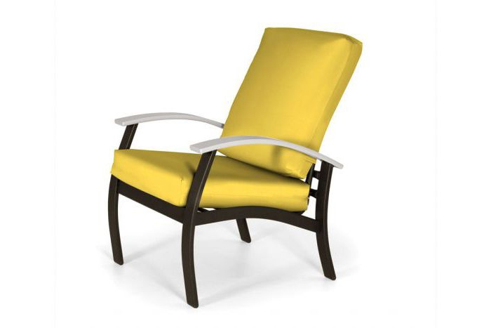 Belle Isle Cushion Arm Chair Pertaining To Beachwood Arm Chairs (View 10 of 20)
