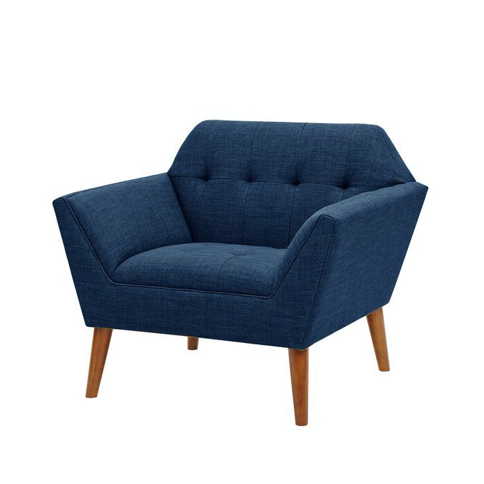 """Belz 38"""" W Tufted Polyester Armchair 