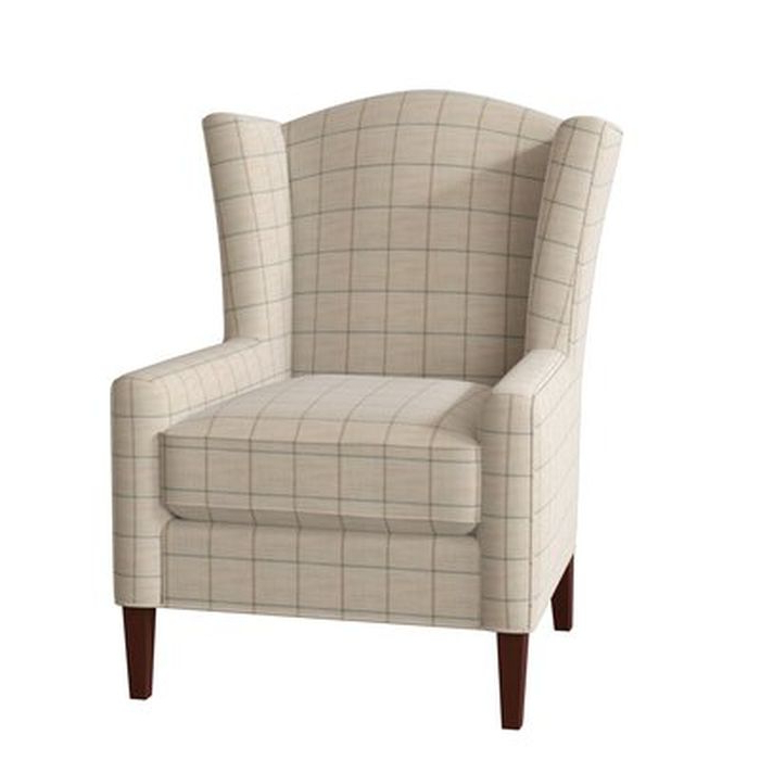 Bickerstaff Wingback Chair – Birch Lane With Regard To Sweetwater Wingback Chairs (View 2 of 20)