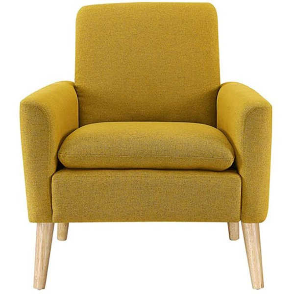 """Biggerstaff 30"""" W Polyester Blend Armchair Inside Ronald Polyester Blend Armchairs (View 8 of 20)"""