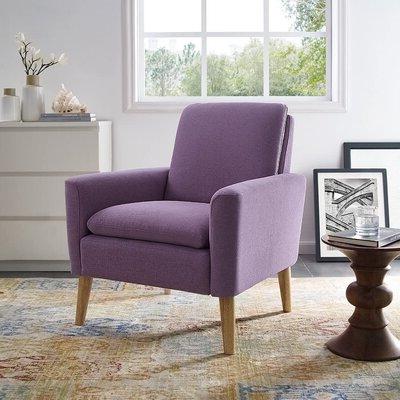 "Biggerstaff 30"" W Polyester Blend Armchair Intended For Biggerstaff Polyester Blend Armchairs (View 2 of 20)"
