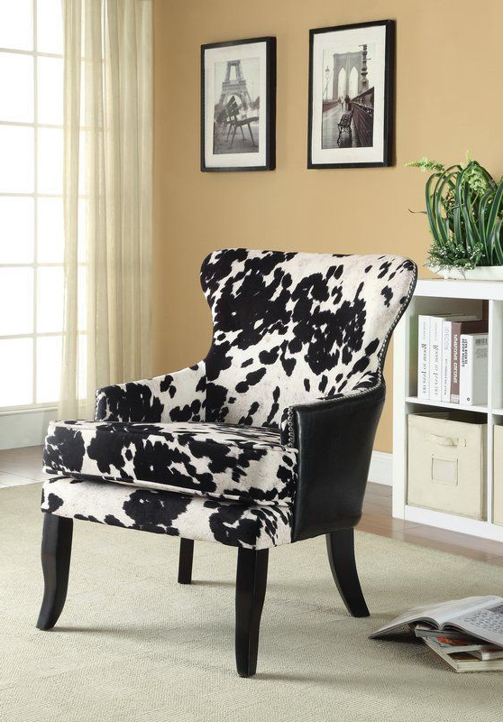 Black Accent Chairs   Furniture Uk Regarding Lucea Faux Leather Barrel Chairs And Ottoman (View 19 of 20)