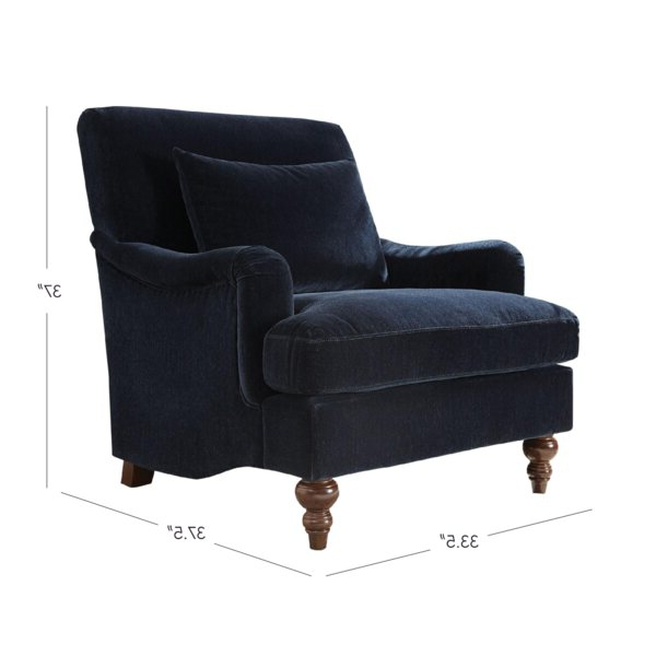 Blaise Armchair With Regard To Ronaldo Polyester Armchairs (View 14 of 20)