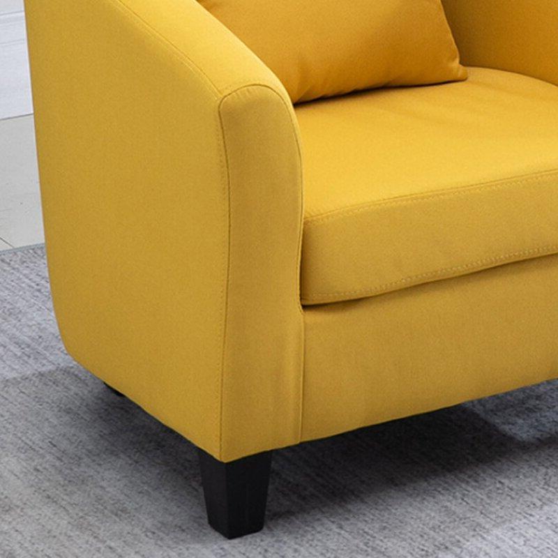 Blaithin Simple Single Barrel Chair Inside Blaithin Simple Single Barrel Chairs (View 4 of 20)