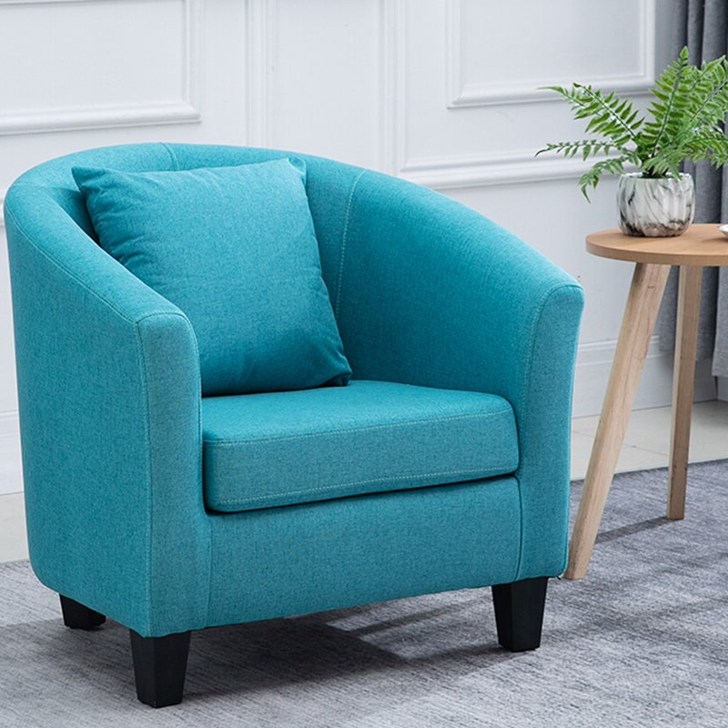 Featured Photo of Blaithin Simple Single Barrel Chairs