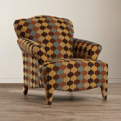 Bloomsbury Market Gardea Armchair Upholstery: Ace Racer Intended For Portmeirion Armchairs (View 6 of 20)