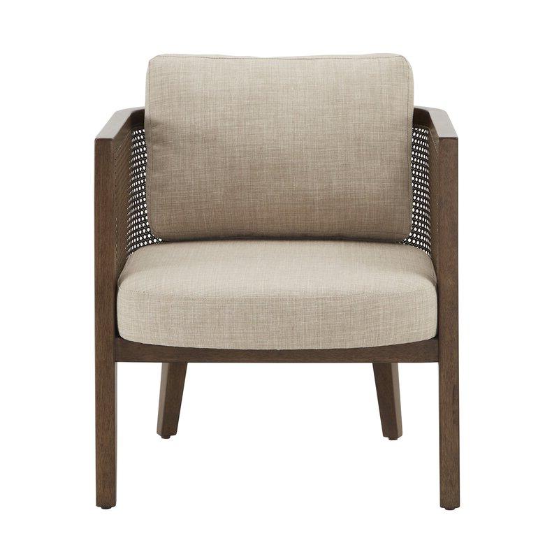 """Boisvert 27"""" W Polyester Blend Armchair Intended For Ronald Polyester Blend Armchairs (View 9 of 20)"""