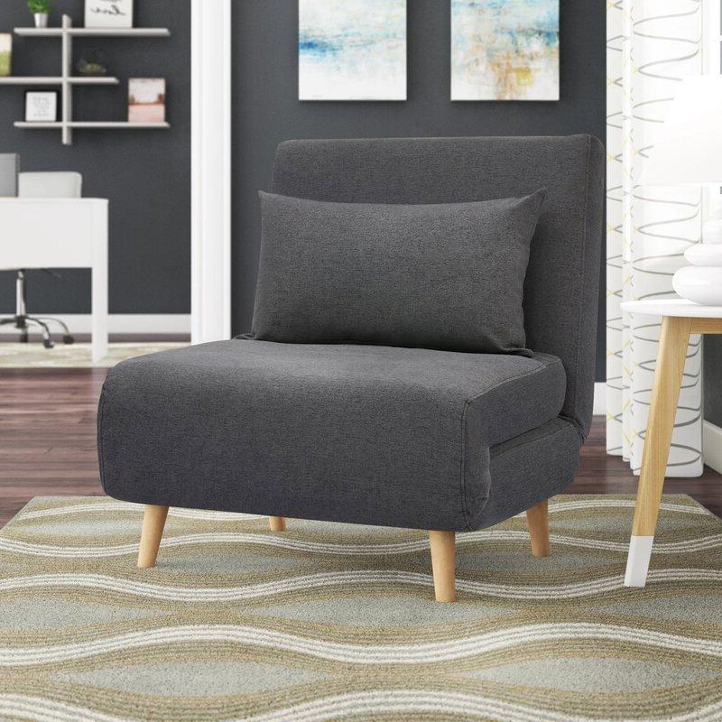 Bolen Convertible Chair Intended For Bolen Convertible Chairs (View 4 of 20)