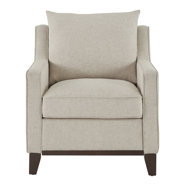 Bomar Armchair In Ronald Polyester Blend Armchairs (View 12 of 20)