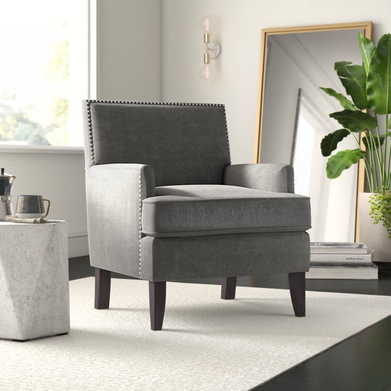 """Borst 29"""" Armchair Throughout Hanner Polyester Armchairs (View 15 of 20)"""