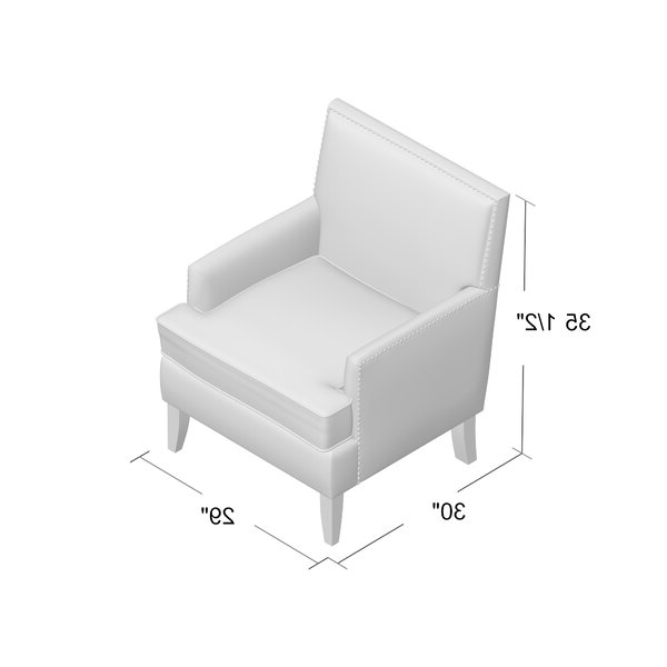 """Borst 29"""" Armchair With Regard To Borst Armchairs (View 10 of 20)"""
