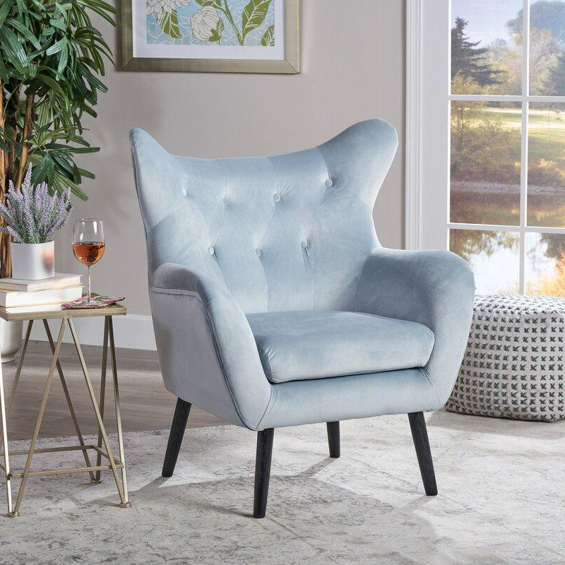 Bouck 21'' Wingback Chair | Wingback Chair, Accent Chairs Inside Bouck Wingback Chairs (View 14 of 20)