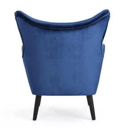 Bouck Wingback Chair – Navy Blue – Blueprint Within Bouck Wingback Chairs (View 19 of 20)
