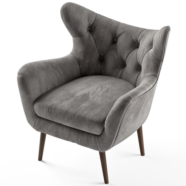 Bouck Wingback Chair With Bouck Wingback Chairs (View 16 of 20)