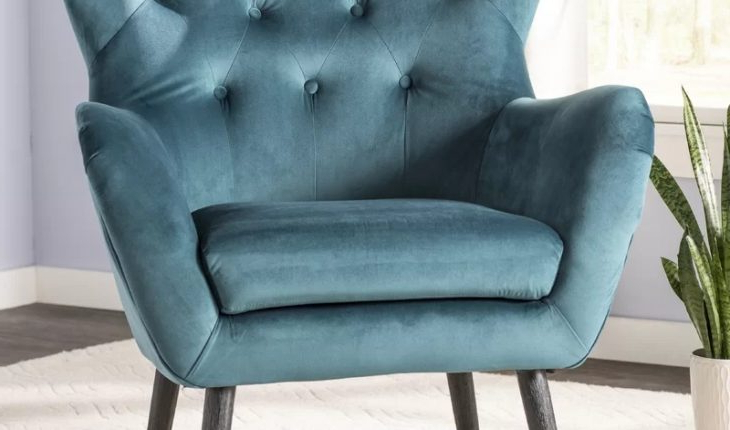 Bouck Wingback Chairwilla Arlo Interiors Review Pertaining To Bouck Wingback Chairs (View 5 of 20)