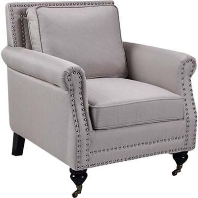 Breton Armchair Upholstery Color: Taupe Intended For Oglesby Armchairs (View 16 of 20)