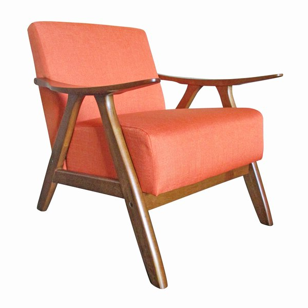 Burnt Orange Armchair With Regard To Hofstetter Armchairs (View 13 of 20)