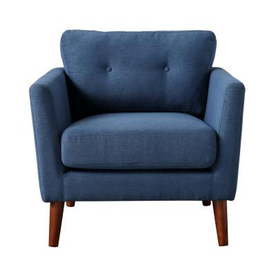 Cadet Blue – Accent Chairs – Chairs – The Home Depot For Dallin Arm Chairs (View 18 of 20)