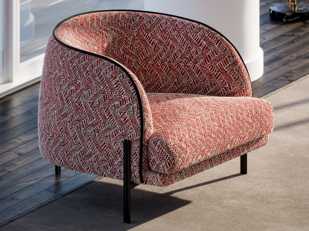 Caillou | Armchairliu Jo Living Collection | Armchair Regarding Hutchinsen Polyester Blend Armchairs (View 15 of 20)