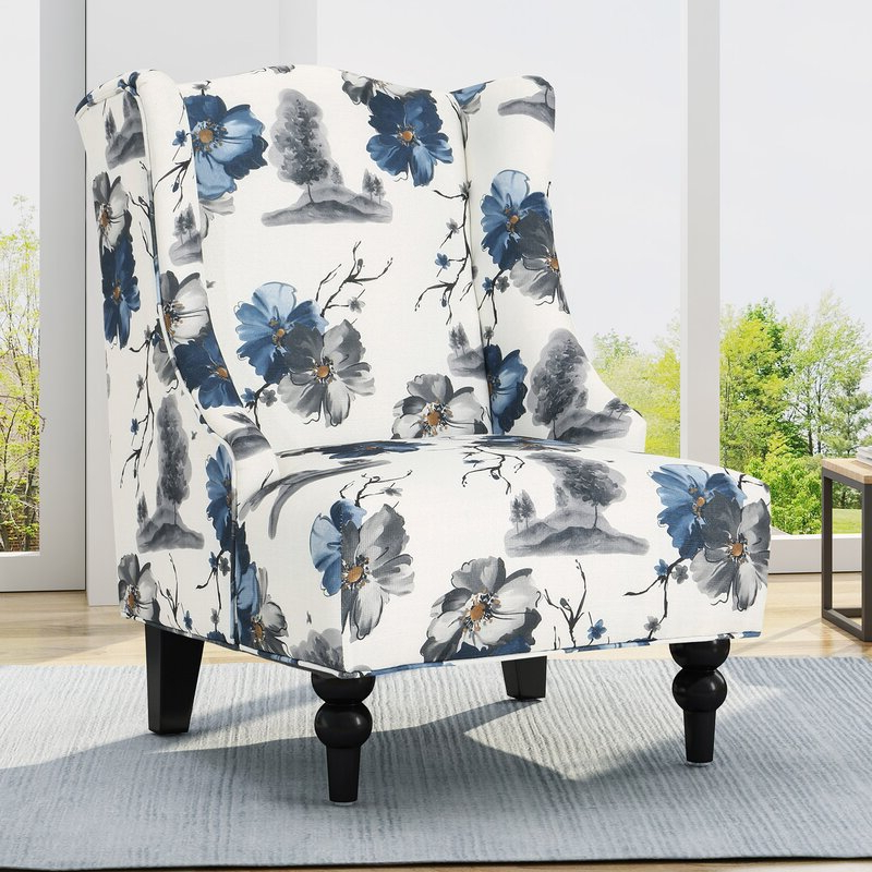 Caitlin Wingback Chair Throughout Andover Wingback Chairs (View 14 of 20)