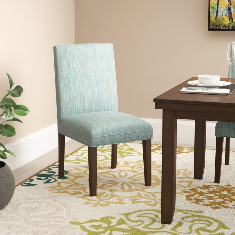Calahan Parsons Upholstered Dining Chair In Aaliyah Parsons Chairs (View 16 of 20)
