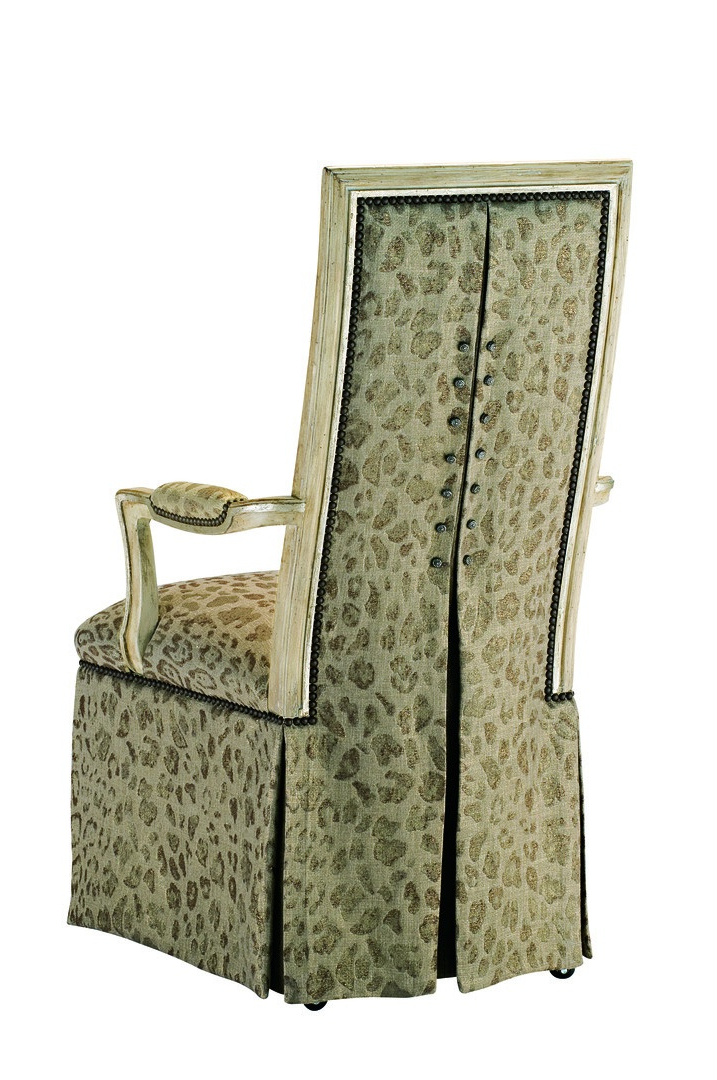 Caldwell Arm Chair | Marge Carson Intended For Caldwell Armchairs (View 4 of 20)
